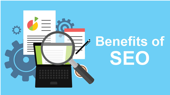 What is the benefit of SEO in Digital marketing?